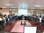 บุคลากรกองนโยบายและแผน เข้าร่วมประชุมการจัดทำกรอบอัตรากำลังพนักงานราชการ รอบที่ 4 ปีงบประมาณ พ.ศ. 2560 - 2563 สำนักงานอธิการบดี (22 มีนาคม 2559)